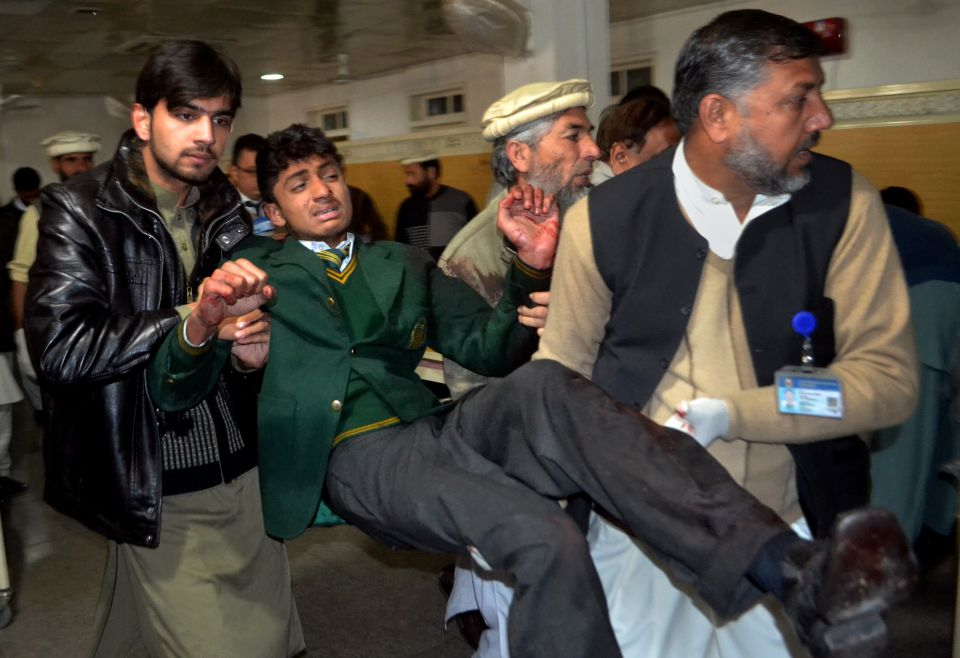 Attentat in Peschawar