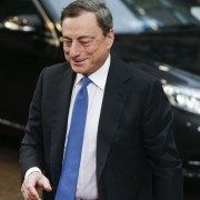Mario Draghi: EZB Chef vs. Bundesbak Foto:  picture alliance/landov
