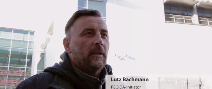 Lutz Bachmann im JF-TV-Interview: Hintergründe und Exklusiv-Interviews Foto: JF