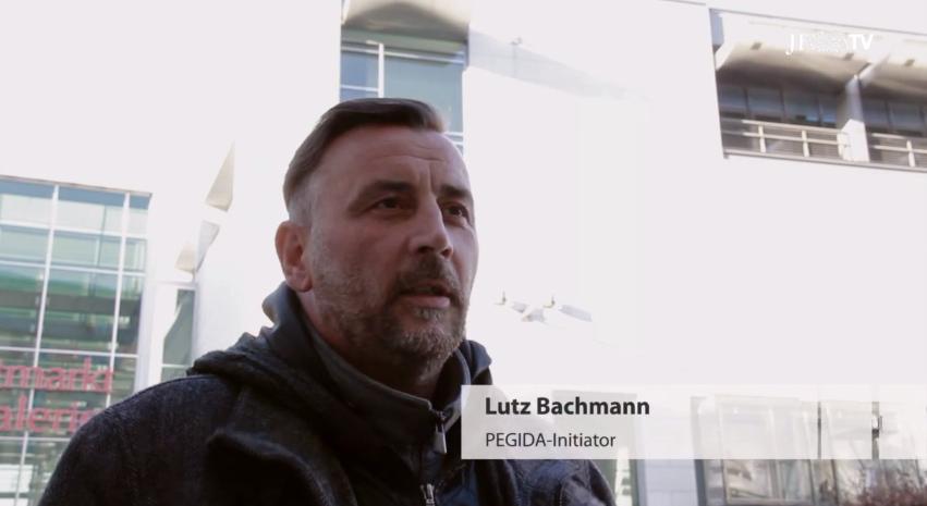 Lutz Bachmann im JF-TV-Interview