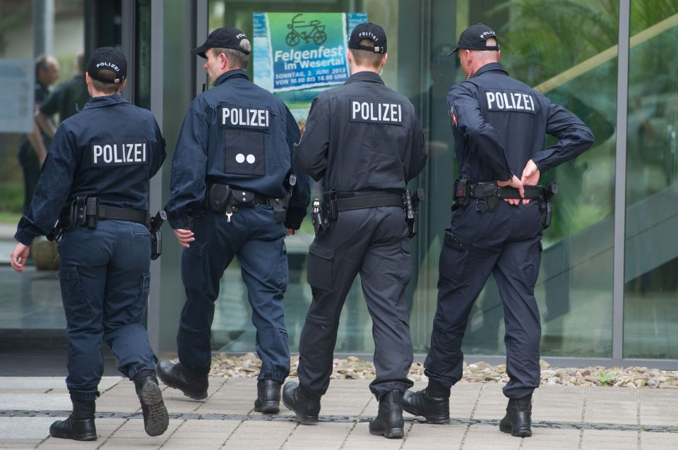 Polizeieinsatz in Hameln (Archiv)