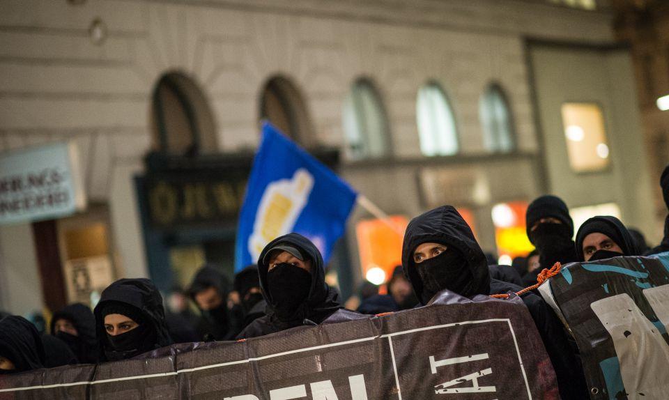 Linksradikale in Wien (2014)