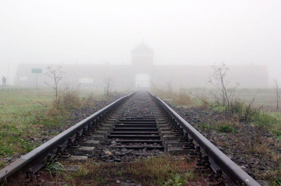 Bahnhof in Auschwitz-Birkenau