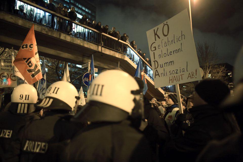 Anti-Pegida-Proteste