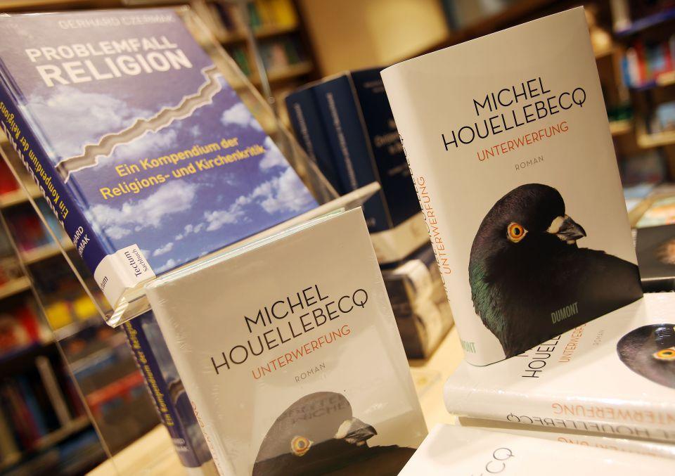 """""""Unterwerfung"""" von Michel Houellebecq"""