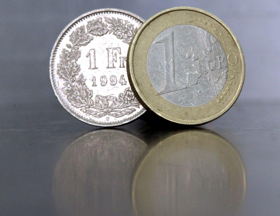 Franken und Euro: