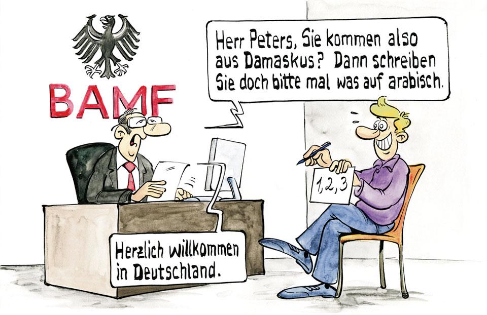 Deutsche Flüchtlinigspolitik