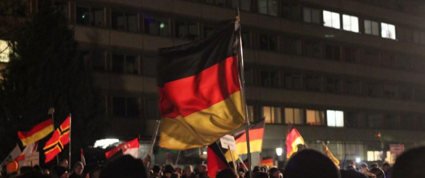 Pegida-Demonstration am 12. Januar 2015: Die Türkei mischt sich ein Foto: JF/FA