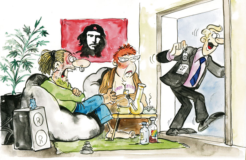 Karikatur der Woche 33:17