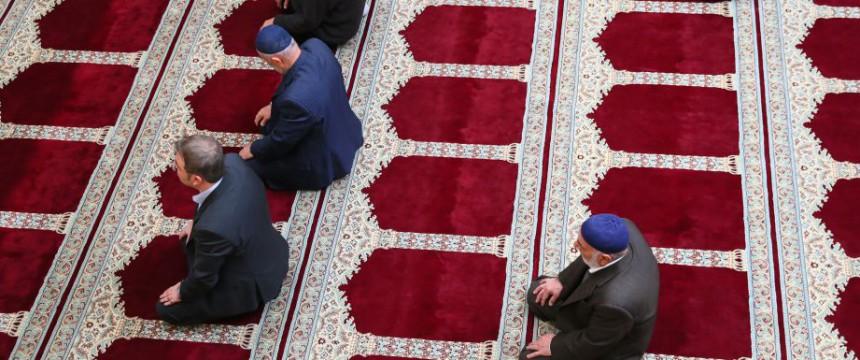 Moslems in einer Wiener Moschee: Neues Islamgesetz beschlossen Foto: picture alliance / Jürg Christandl / KURIER / picturedesk.com