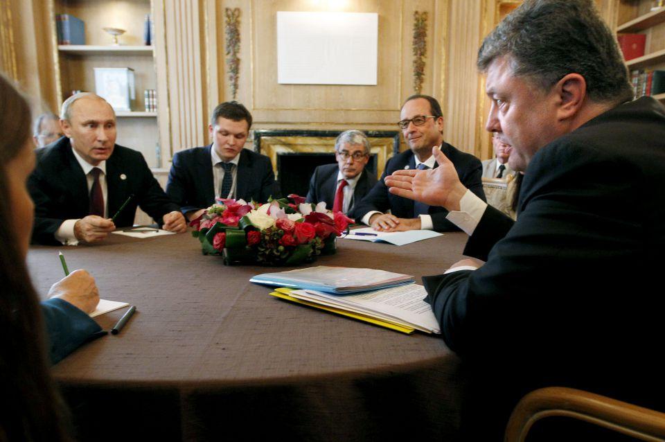 Verhandlungen in Minsk