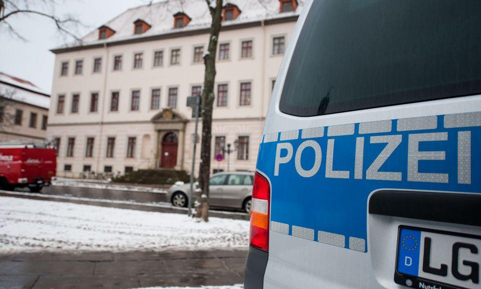 Polizei in Lüneburg