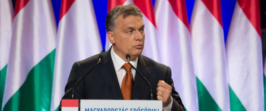 Ungarns Regierungschef Viktor Orbán Foto: picture alliance/Photoshot