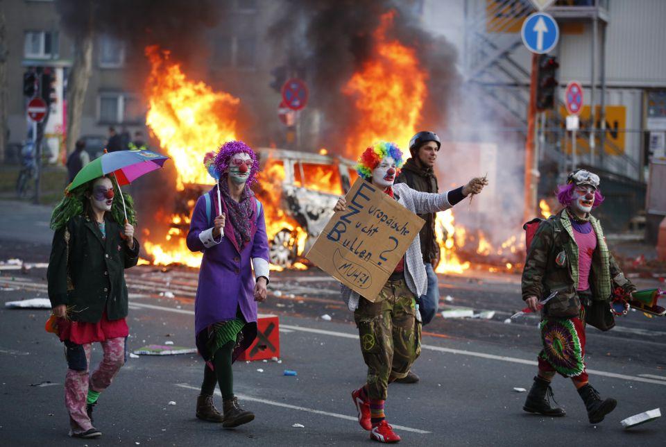 EZB-Proteste