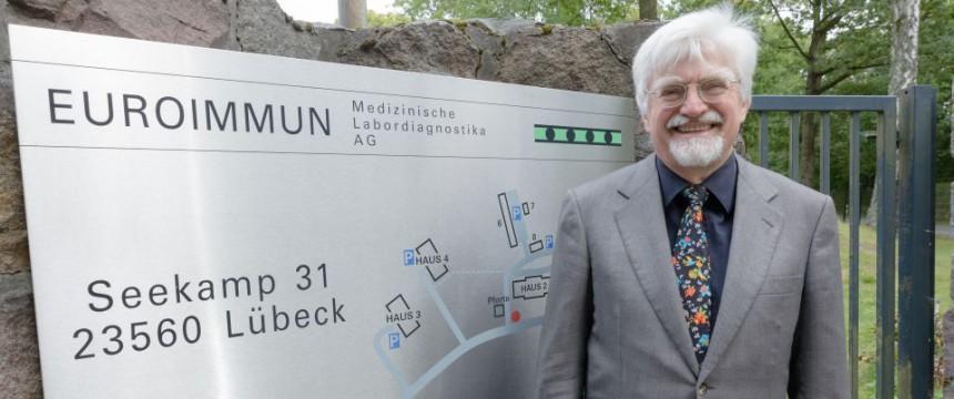 Winfried Stöcker: Der Unternehmer und Wissenschaftler will sich den Mund nicht verbieten lassen Foto: picture alliance/dpa