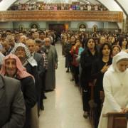 Irakische Christen feiern die Ostermesse (2013): Ihr werdet meinetwillen verfolgt werden Foto:  picture alliance / Photoshot