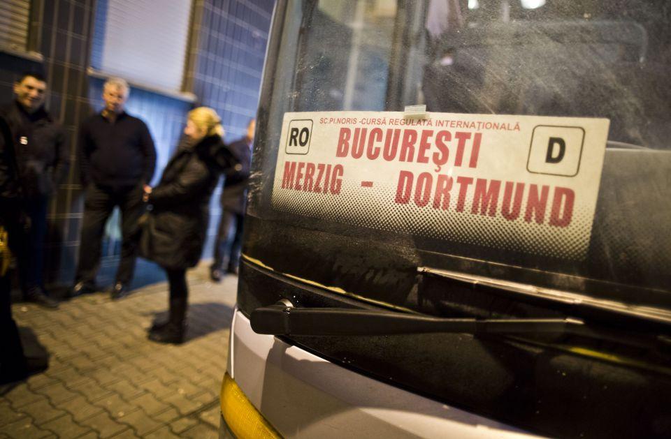 Buslinie von Bukarest nach Dortmund