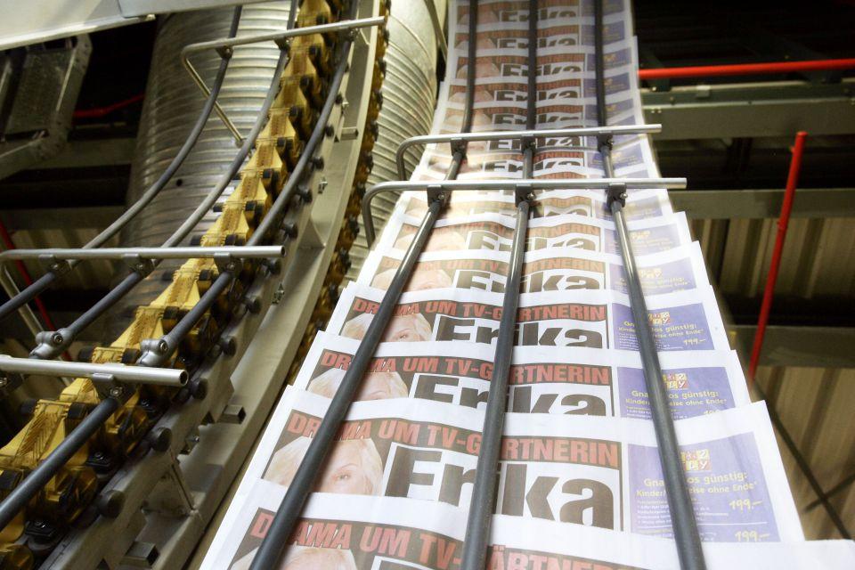 Zeitungsdruckerei