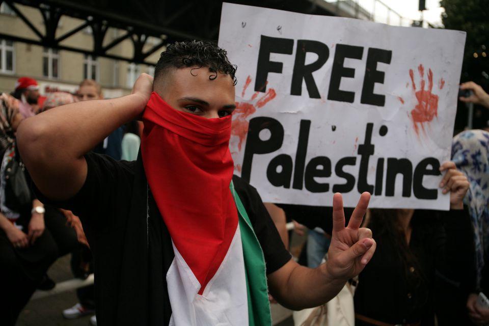 Palästinenser-Demonstration (2014)