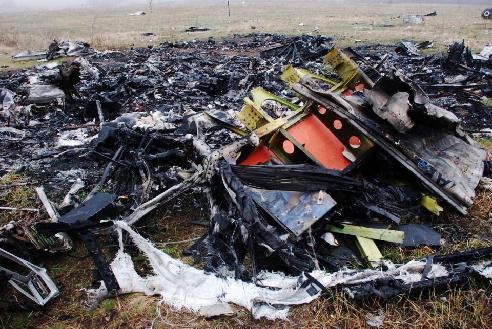 Wrack der MH17