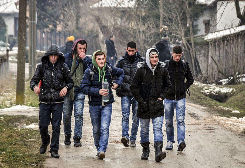 Kosovoalbaner auf dem Weg in die EU