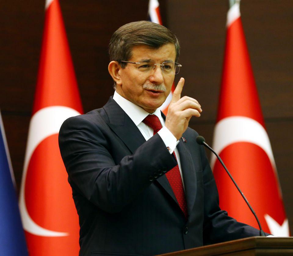 Außenminister Ahmet Davutoglu