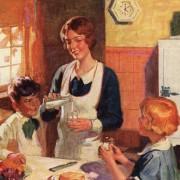 Familienidylle mit glücklicher Mutter  Foto: picture alliance/The Advertising Archives