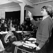 Hans-Christian Ströbele (r) und Mitglieder der Alternativen Liste 1989: Hunderte von Opfern Foto:  picture alliance
