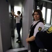 Körperscanner am Flughafen Düsseldorf: EU-Kommission verklagt Deutschland Foto:  picture alliance / dpa