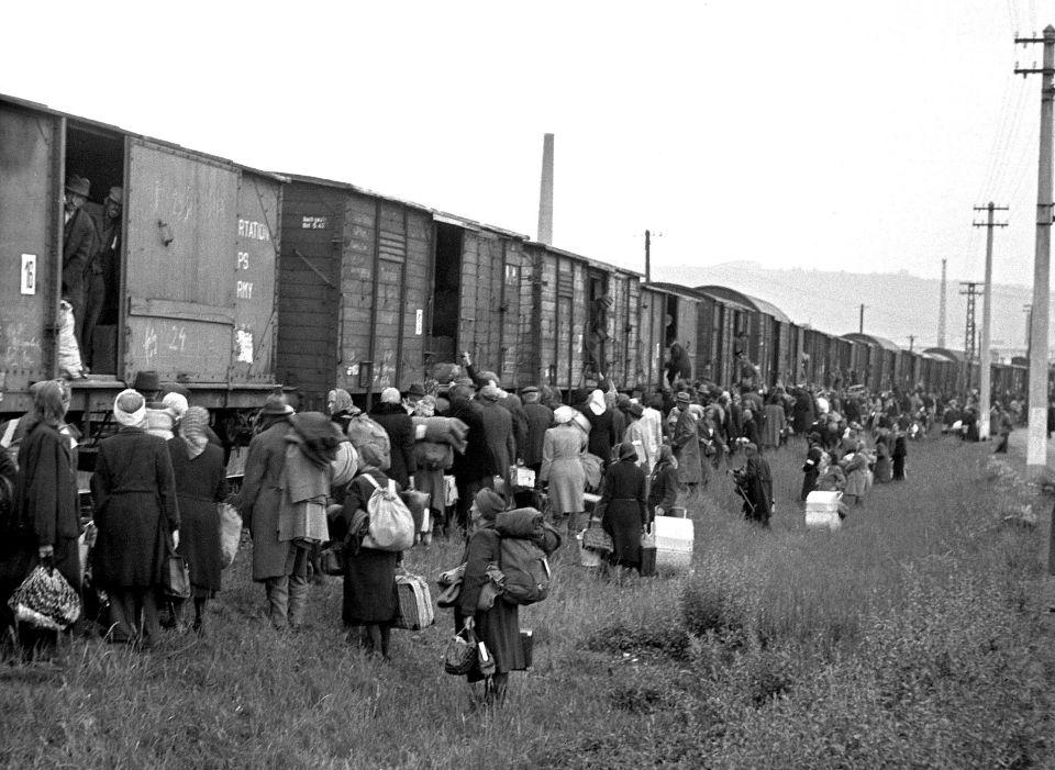 Deportation von Sudetendeutschen