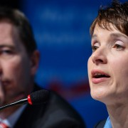 Frauke Petry: Schließe Zusammenarbeit mit Bernd Lucke aus Foto: dpa