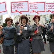 Christopher-Street-Day in Berlin 2014: Abweichler werden nicht toleriert Foto:  picture alliance / Eventpress Radke