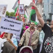 Die CDU befürchtet einen importierten Antisemitismus wie hier beim Al-Quds-Tag in Berlin 2014 Foto: picture alliance