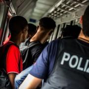 Bundespolizei greift Illegale auf (2014) Foto: dpa