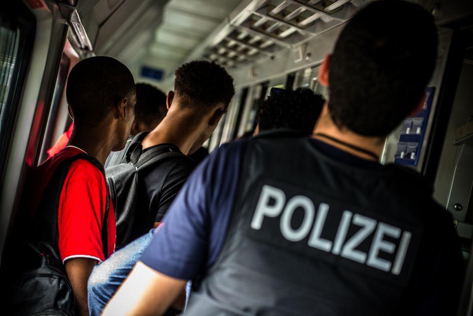 Bundespolizei greift Illegale auf (2014)