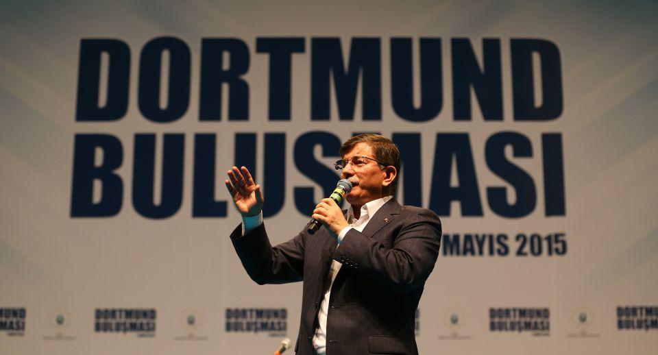Ahmet Davutoğlu in Dortmund