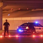 Polizisten in Garland: Anschlag verhindert Foto: dpa