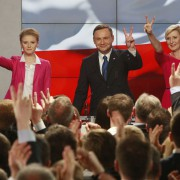 Andrzej Duda: Sieger des ersten Wahlgangs Foto:  picture alliance/AP Photo
