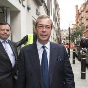 Chef der Unabhängigkeitspartei Nigel Farage Foto: picture alliance / dpa