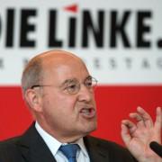 Der Generalstaatsanwalt Hamburg wirft Gregor Gysi (Linkspartei) Falschaussage vor Foto: picture alliance / dpa