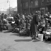 Deutsche warten in Prag auf ihre Deportation: Zehntausen starben Foto: dpa