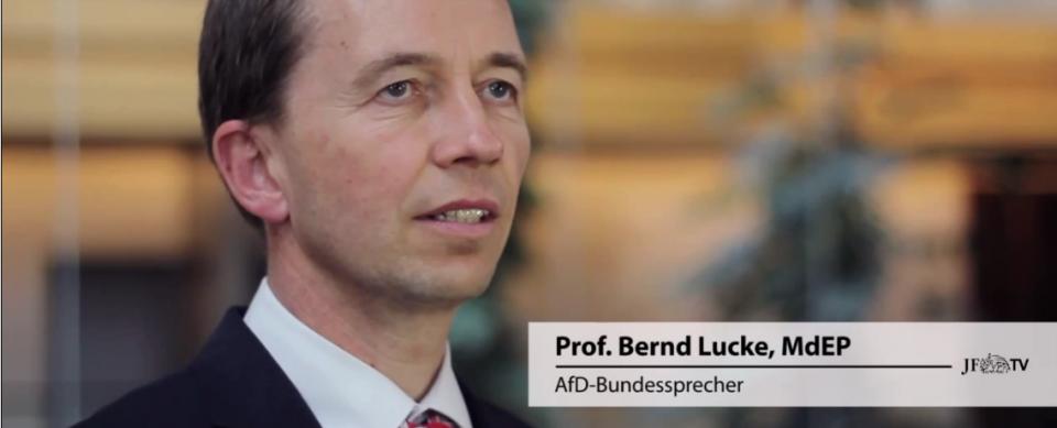 Bernd Lucke im JF-Gespräch