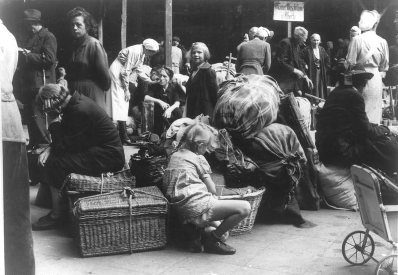 Flüchtlinge aus dem Osten