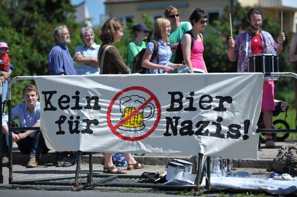 Kein Bier fuer Nazis