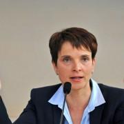 Frauke Petry: Wird sich die AfD-Sprecherin gegen Bernd Lucke durchsetzen? Foto: picture alliance/dpa