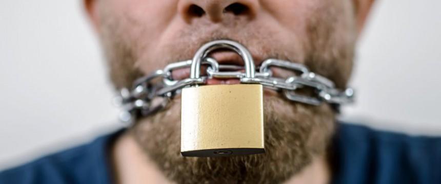 Zum Schutz der Toleranz dürfen einige Meinungen nicht geäußert werden Foto: picture alliance/ZB/dpa