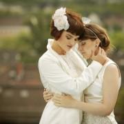 Brautmode für lesbische Frauen: Versuch einer konservativen Rechtfertigung der Homo-Ehe Foto:  picture alliance / dpa
