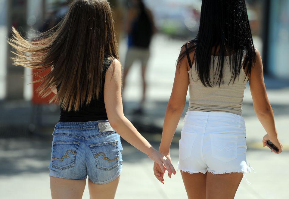 Mädchen in kurzen Hosen (Symbolbild)