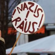 Demonstrant: Der Begriff hat eine große Zukunft Foto: dpa