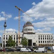 Baustelle Berliner Schloß: Geschichte entsteht neu Foto:  picture alliance / ZB